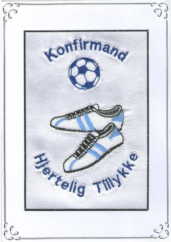 Konfirmand Telegram Dreng Håndbold