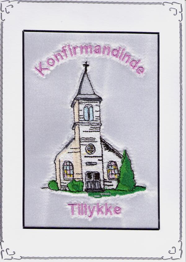Konfirmand Telegram Pige Kirke