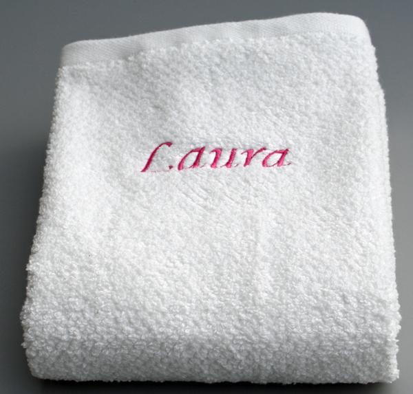 Navn på håndklæde Laura
