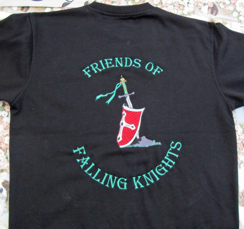 Falling Knights Ryg Mærke