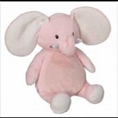 Elefant Pink Buddy Kramme dyr.