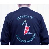 Broderet rygmærke Motot´rcykkel klub