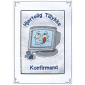 Konfirmand Telegram Dreng Computer