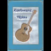 Konfirmand Telegram Dreng Ak. Guitar