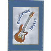 Konfirmand Telegram Dreng guitar El