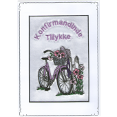 Konfirmand Telegram Pige Cykel